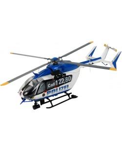 Сглобяем модел на полицейски хеликоптер Revell Eurocopter - EC145 Police/Gendarmerie (04653)