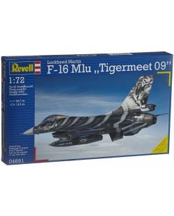 Сглобяем модел на изтребител Revell - F-16 Mlu Tigermeet 2009 (04691)