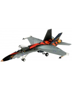 Сглобяем модел на военен самолет Revell - F/A18-C Hornet (04001)