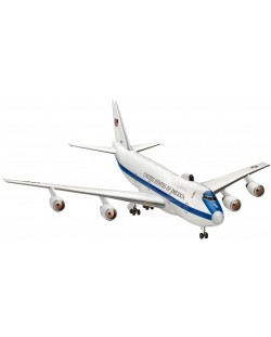Сглобяем модел на самолет Revell - E-4B Airborne Command Post (04663)