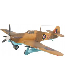 Сглобяем модел на военен самолет Revell - Hawker Hurricane Mk IIC (04144)