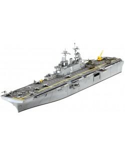 Сглобяем модел на кораб-самолетоносач Revell - Assault Carrier U.S.S. KEARSARGE (LHD-3) (05110)