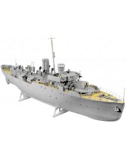 Сглобяем модел на военен кораб Revell - FLOWER CLASS CORVETTE Platinum Edition (05112)