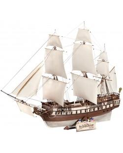 Сглобяем модел на кораб Revell - U.S.S. BonHomme Richard (05113)