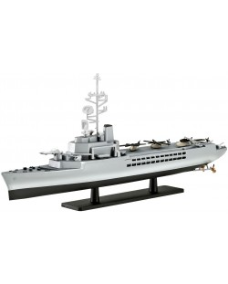 Сглобяем модел на военен кораб Revell - French Helicopter Carrier JEANNE d'ARC (R97) (05896)