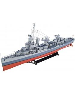 Сглобяем модел на военен кораб Revell - US Navy FLETCHER-CLASS Destroyer (05091)