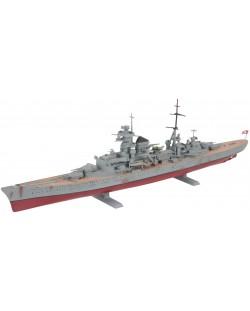 Сглобяем модел на военен кораб Revell - German Heavy Cruiser PRINZ EUGEN (05050)