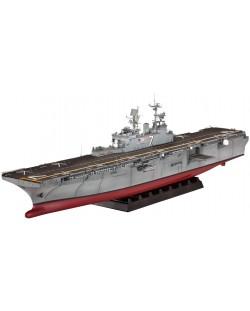 Сглобяем модел на кораб-самолетоносач Revell - Amphibious Assault Ship U.S.S. IWO JIMA (LHD-7) (05109)