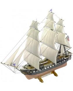 Сглобяем модел на ветроходен кораб Revell - USS United States (05406)