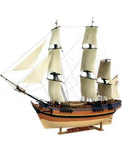 Сглобяем модел на ветроходен кораб Revell - H.M.S. Bounty (05713)