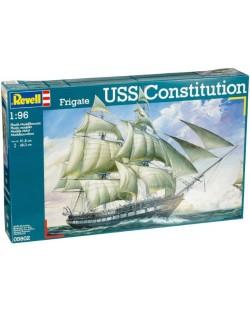 Сглобяем модел на ветроходен кораб Revell -  U.S.S. Constitution (5602)
