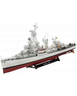 Сглобяем модел на военен кораб Revell - German DESTROYER CLASS 119 (Z1/Z5) (05097)