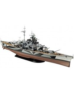 Сглобяем модел на кораб Revell - Battleship Tirpitz (05096)