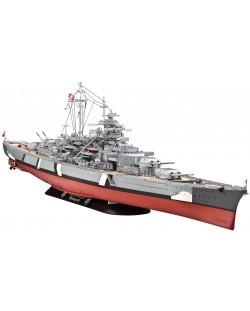 Сглобяем модел на военен кораб Revell - Battleship BISMARCK (05040)