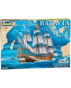 Сглобяем модел на кораб Revell - Batavia (05728)