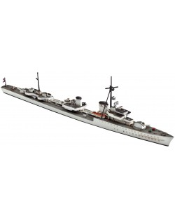 Сглобяем модел на военен кораб Revell - Type 36 A (Mob) Destroyer (05106)