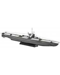 Сглобяем модел на подводница Revell - German Minelayer Type VIID (05107)