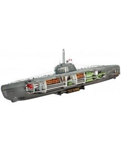 Сглобяем модел на подводница Revell - U-Boat Typе XXI (05078)