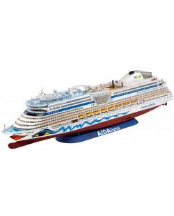 Сглобяем модел на пътнически кораб Revell - Cruiser ship AIDAdiva, AIDAbella, AIDAluna (05200)