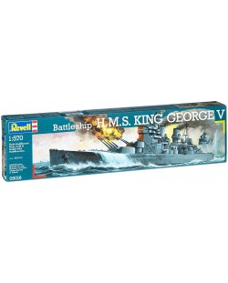 Сглобяем модел на кораб Revell - H.M.S. King George V (05016)