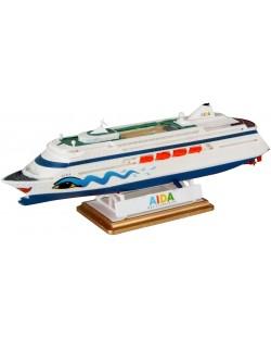 Сглобяем модел на пътнически кораб Revell - AIDA (05805)