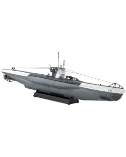 Сглобяем модел на подводница Revell - German Submarine Type VII C (05093)