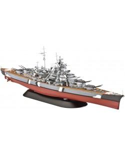 Сглобяем модел на военен кораб Revell - Battleship BISMARCK (05098)