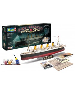 Сглобяем модел на пътнически кораб Revell - R.M.S. Titanic, 100th anniversary edition (05715)