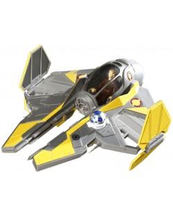 Сглобяем модел на космически кораб Revell Easykit Pocket STAR WARS - Anakin's Jedi Starfighter (06720)