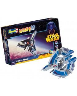 Сглобяем модел на космически кораб Revell Easykit STAR WARS - Droid Tri-Fighter (06652)