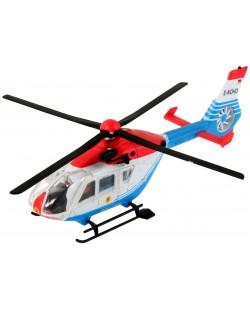 Сглобяем модел на полицейски хеликоптер Revell Easykit - EC-135 Polizei (06635)