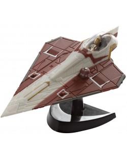 Сглобяем модел на космически кораб Revell Easykit Pocket STAR WARS - Jedi Starfighter (06731)
