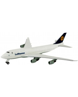 Сглобяем модел на самолет Revell Easykit - Boeing 747-400 Lufthansa (06641)