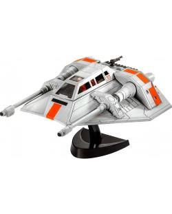 Сглобяем модел на космически кораб Revell Easykit STAR WARS - Snowspeeder (06661)