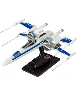 Сглобяем модел на космически кораб Revell Star Wars: Episode VII - Resistance X-Wing Fighter (06696)