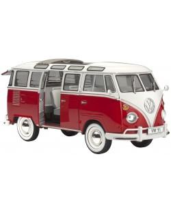 Сглобяем модел на автомобил Revell - VW T1 SAMBA BUS (07399)