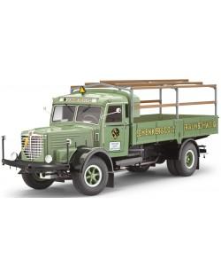 Сглобяем модел на камион Revell - Büssing 8000S 13 (07498)