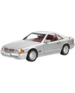 Сглобяем модел на автомобил Revell - Mercedes-Benz 300 SL-24 Coupé (07174)