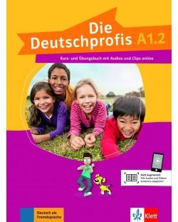 1 Die Deutschprofis A1.2 Kurs- und Ubungsbuch+online audios und clips