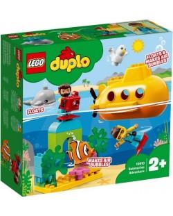Конструктор Lego Duplo - Submarine Adventure (10910)