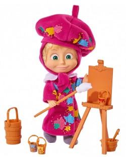 Кукла Simba Toys Маша и Мечока - Маша художник