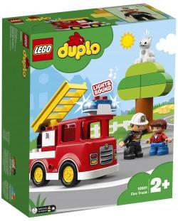 Конструктор Lego Duplo - Пожарникарски камион (10901)