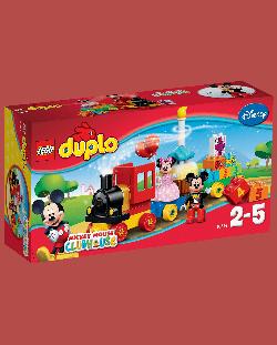 Конструктор Lego Duplo Disney - Парад за рожден ден с Мики и Мини (10597)