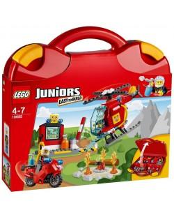 Конструктор Lego Juniors - Пожарникарски куфар (10685)