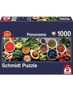 Панорамен пъзел Schmidt от 1000 части - На кухненската маса