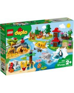 Конструктор Lego Duplo - World Animals (10907)