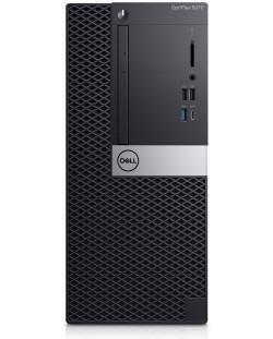Настолен компютър Dell Optiplex - 5070 MT, черен