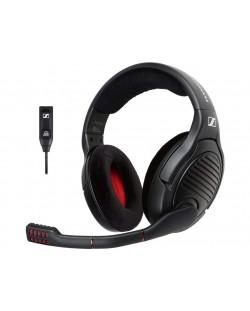 Гейминг слушалки Sennheiser - PC 373D, черни
