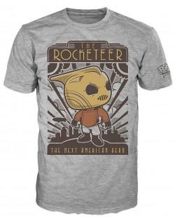 Тениска Funko Pop! The Rocketeer, сива