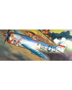 Самолет Academy P-47D Thunderbolt Bubbletop (12491)